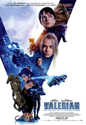 Valerian and the City of a Thousand Planets - Theatrical release poster