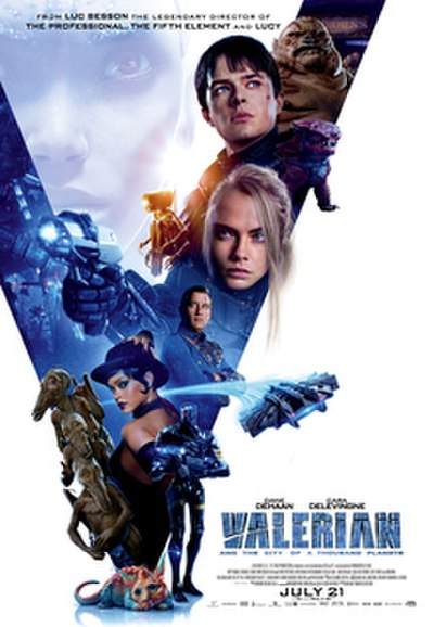 Picture of a movie: Valerian And The City Of A Thousand Planets
