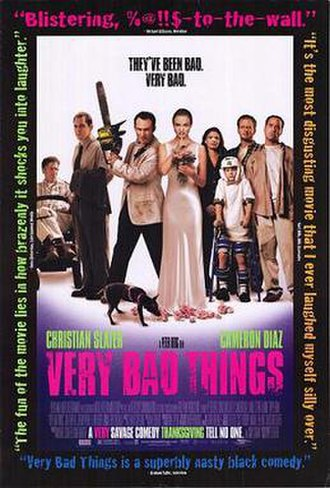 Very Bad Things - Theatrical release poster
