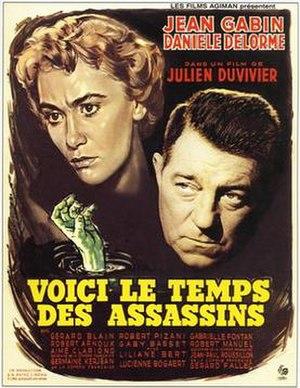 Deadlier Than the Male (1956 film) - Image: Voici le temps des assassins (1956)