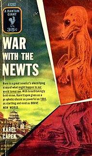 <i>War with the Newts</i> book