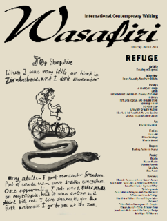 <i>Wasafiri</i> Academic journal