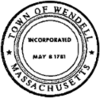 Official seal of Wendell, Massachusetts