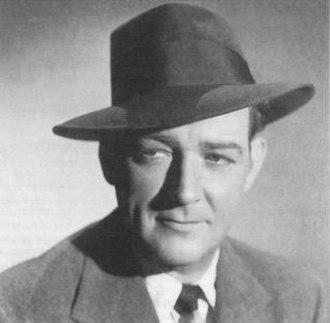 William Gargan - 1949 promotional photo of Gargan for Martin Kane, Private Eye