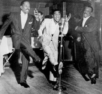 Sammy Davis Jr. - Will Mastin Trio: (L–R) Sammy Davis Sr., Sammy Davis Jr., and Will Mastin