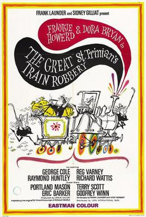 "The Great St Trinian's Train Robbery - Image: ""The Great St Trinian's Train Robbery"" (1966)"