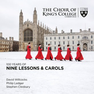 100 Years of Nine Lessons and Carols - Image: 100 Years of Nine Lessons and Carols album cover