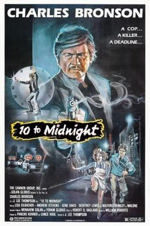 10 to Midnight - Theatrical release poster