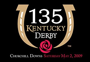 2009 Kentucky Derby - Official logo for the 2009 Kentucky Derby