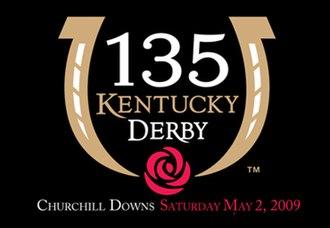 2009 Kentucky Derby - Official logo for the 2009 Kentucky Derby
