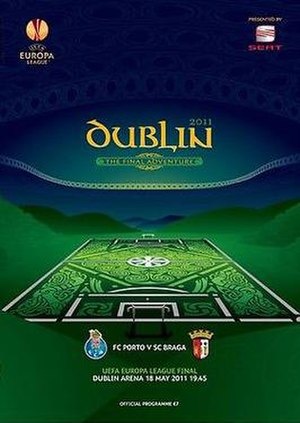 2011 UEFA Europa League Final - Image: 2011 UEFA Europa League Final programme