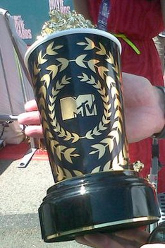 "MTV Movie & TV Awards - This is a picture of the ""golden popcorn"" awarded at the 2012 MTV Movie Awards."