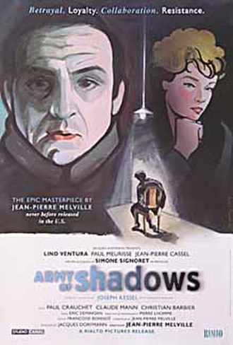 Army of Shadows - 2006 theatrical release poster