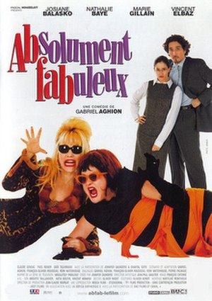 Absolutely Fabulous (film) - Image: Absolument fabuleux Film Poster