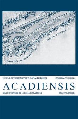 Acadiensis - Image: Acadiensis cover