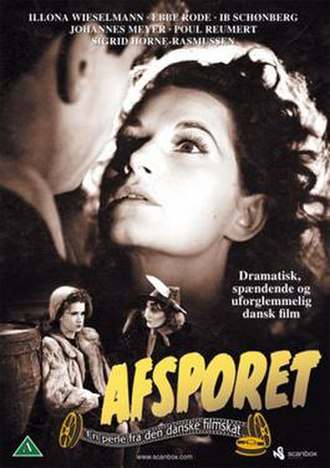 Afsporet - Front cover of the Danish DVD