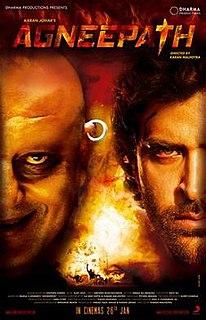 <i>Agneepath</i> (2012 film) 2012 film by Karan Johar, Yash Johar, Karan Malhotra