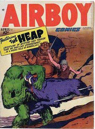 Heap (comics) - Image: Airboy Heap