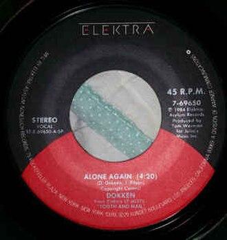 Alone Again (Dokken song) - Image: Alone Again (Dokken)