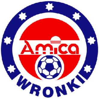 Amica Wronki - The first Amica Wronki logo