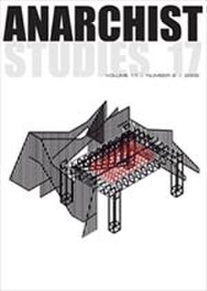 Anarchist Studies - Image: Anarchist Studies Cover