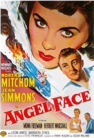 Angel Face (1953 film) - Theatrical release poster