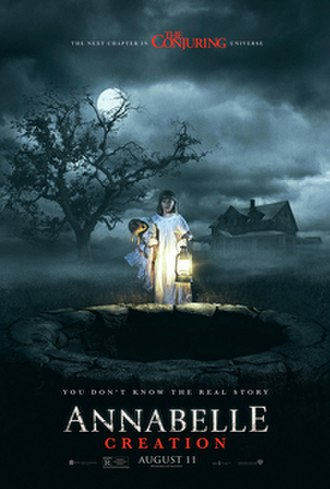 Annabelle: Creation - Theatrical release poster
