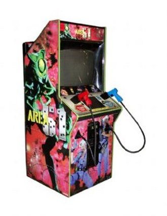 Area 51 (1995 video game) - A Area 51 arcade cabinet.