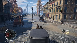 Assassin's Creed Syndicate - Image: Assassin's Creed Syndicate carriage gameplay