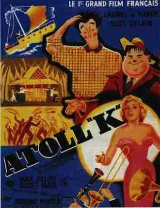 Atoll K - Theatrical release poster