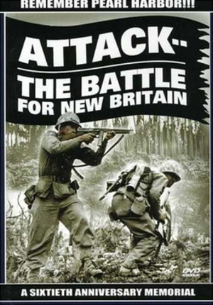 Attack! The Battle of New Britain - Image: Attack! Battle of New Britain Video Cover