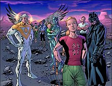 The Cover Of Cancelled Authority Widescreen By Bryan Hitch