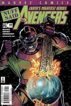 Kang Dynasty - Image: Avengers v 3 49