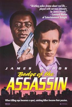 Badge of the Assassin 1985 Film Poster.jpg