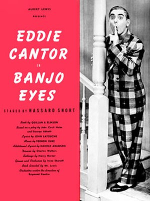 Banjo Eyes - Page from souvenir program