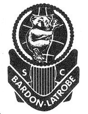 Bardon Latrobe FC - Bardon Latrobe SC original badge
