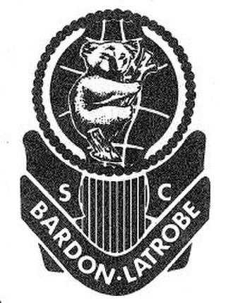 Bardon Latrobe FC - Bardon Latrobe SC original badge