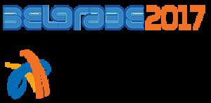 2017 European Athletics Indoor Championships - Image: Belgrade 2017logo