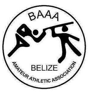 Belize Athletic Association - Image: Belize Amateur Athletic Association Logo