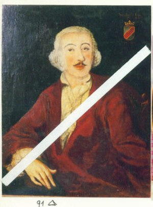 Bernhard Caboga-Cerva - Painting depicting Count Bernhard.
