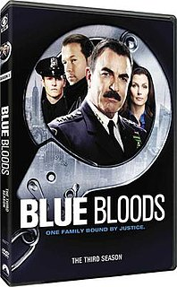 <i>Blue Bloods</i> (season 3) Season of American television series Blue Bloods