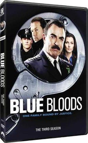 Blue Bloods (season 3) - Image: Blue Bloods S3 DVD