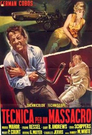 Blueprint for a Massacre - Image: Blueprint for a Massacre poster