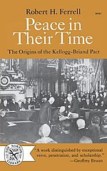 Ferrell's first book, Peace in Their Time: The Origins of the Kellogg-Briand Pact, won the American Historical Association's 1952 George Louis Beer Prize