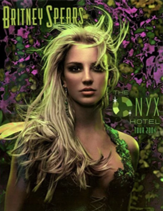 The Onyx Hotel Tour - Promotional poster for the tour