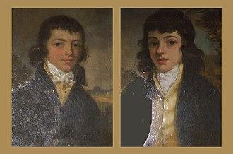 Thomas Howard, 16th Earl of Suffolk - Brothers Charles Nevinson and Thomas Howard