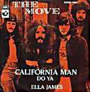 California Man (song) 1972 single by The Move