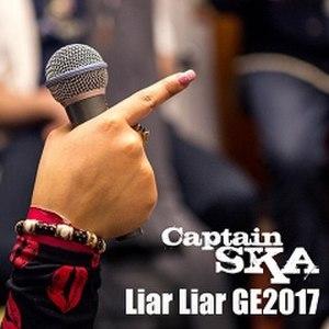 Liar Liar GE2017 - Image: Captain SKA Liar Liar GE2017 single cover art
