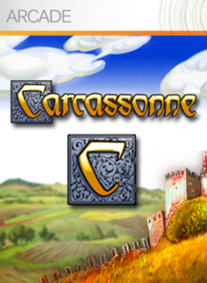 Carcassonne (video game) - Image: Carcassonne logo