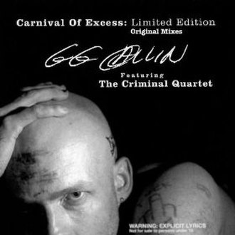Carnival of Excess: Limited Edition - Image: Carnival of Excess Limited Edition